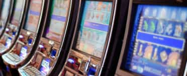 image of poker machines in gaming room